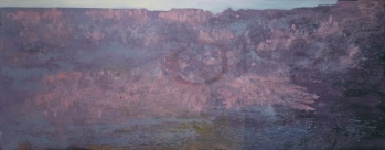 Grand Canyon, oil on canvas, 90x200cm, 2013