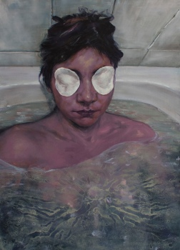 Eye peds, oil on canvas, 90x65 cm, 2014