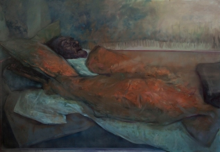 Sleep 12, oil on canvas, 200x140 cm, 2011