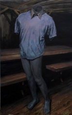 Robert-A, acrilycs and oil on cancas, 160x100 cm, 2014