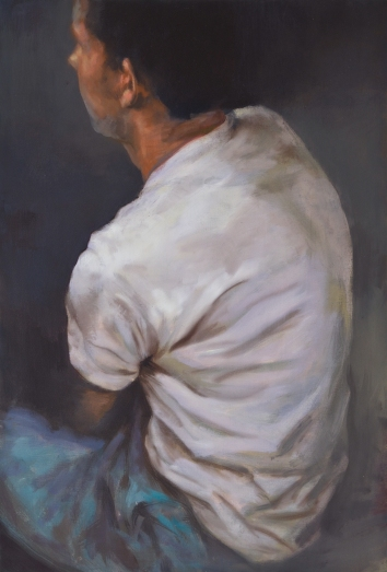 White shirt, oil on canvas, 90 x 110 cm, 2014