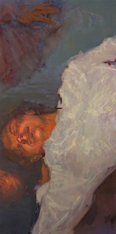 Idle 2; oil on canvas, 120 x 60 cm, 2008