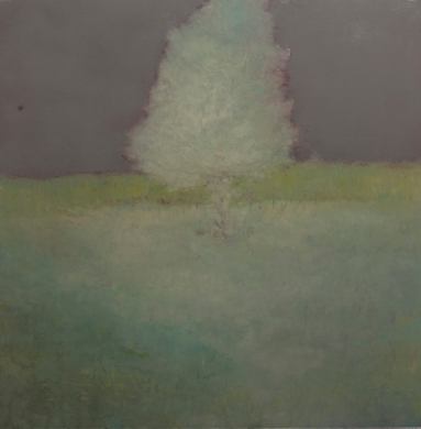 Land 1, oil on canvas, 130 X 130 cm, 2011