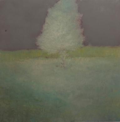 Land 1, oil on canvas, 130 X 130 cm, 2011
