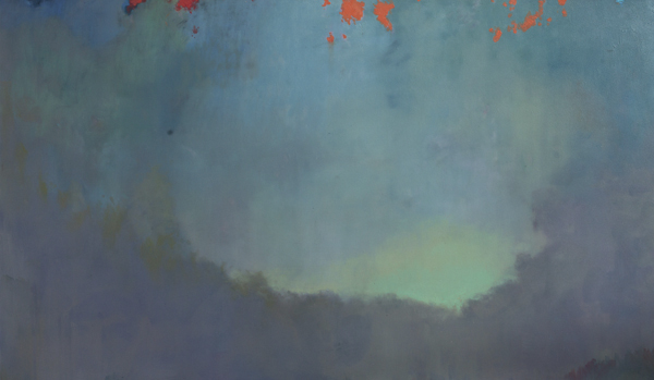 Land 4, oil on canvas, 90 x 150 cm, 2011