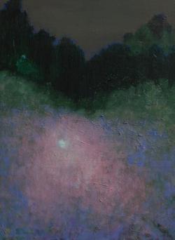 Land 5, oil on canvas, 40 X 30 cm, 2014