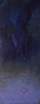 Land 6, oil on canvas, 200 X 90 cm, 2015
