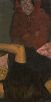 Magnet, oil on canvas, 120 x 60 cm, 2008