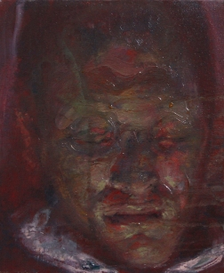 Neighbor 2, oil on canvas, 30x25 cm, 2011