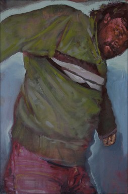 The flautist 2, oil on canvas, 80x60cm, 2010