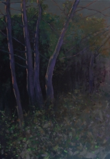 Trees, oil on canvas, 100x70 cm, 2015
